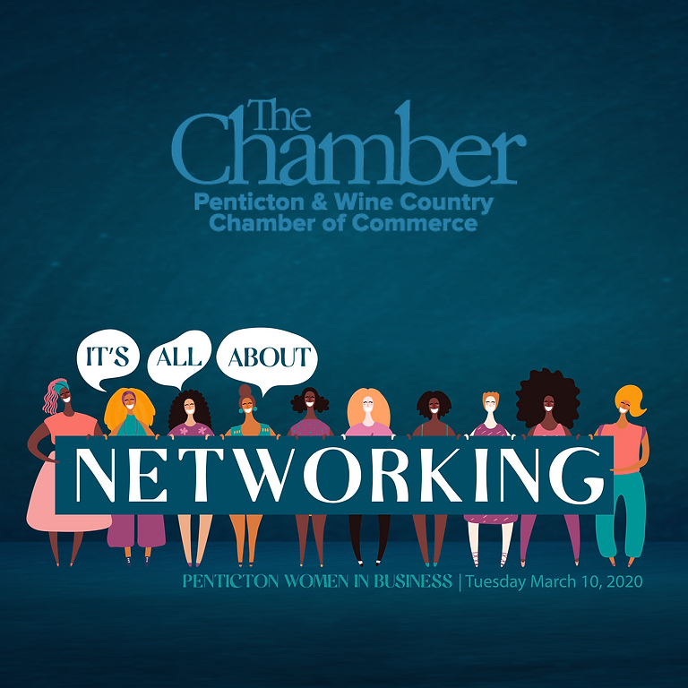 IT'S ALL ABOUT NETWORKING   MARCH 10TH LUNCHEON