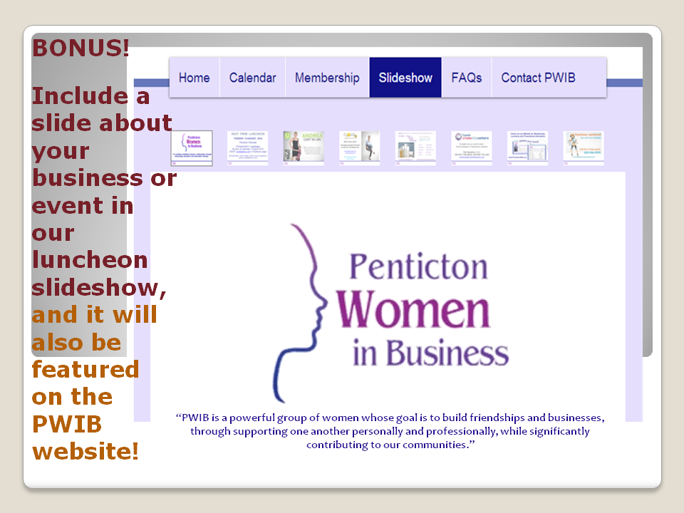 PWIB Slideshow Website