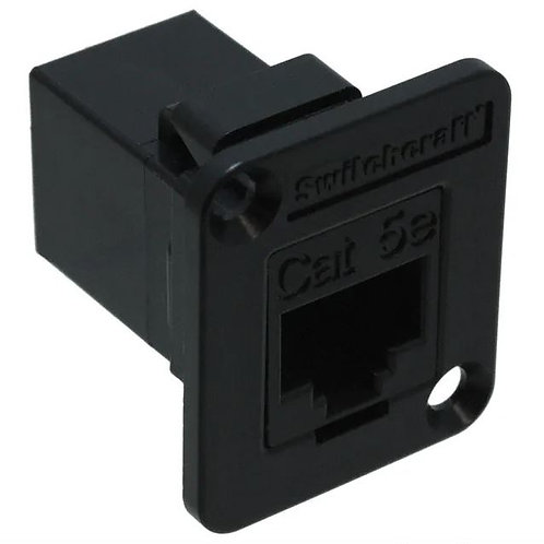 RJ-45 Connector / Coupler with Flange