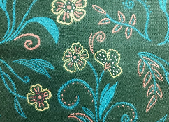Embroidery Dark Teal