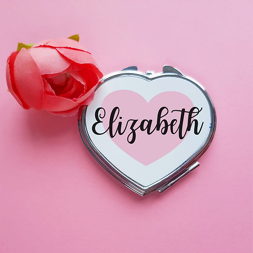 Personalised compact mirror, best friend gift, bridesmaid gift, maid of honour,