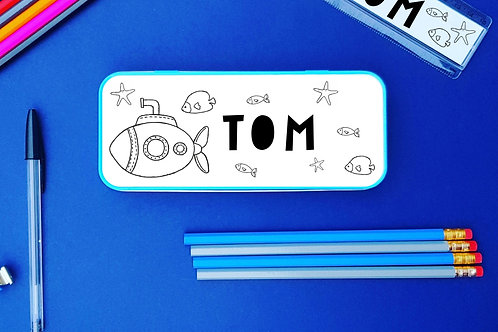 under the sea theme stationery