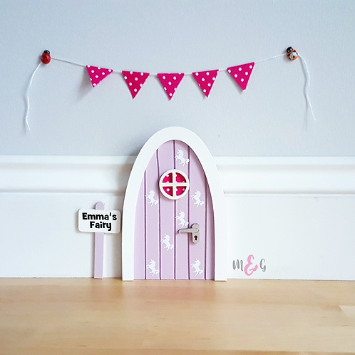 Unicorn Fairy Door