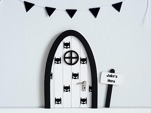 Superhero fairy door tooth fairy