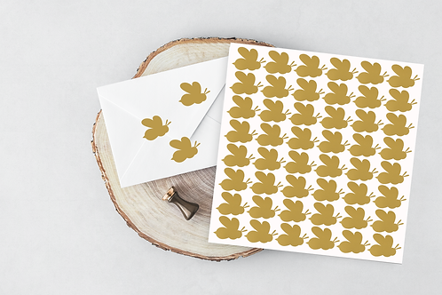 Bee stickers - envelope seal - vinyl sticker- vinyl decal-party favour stickers