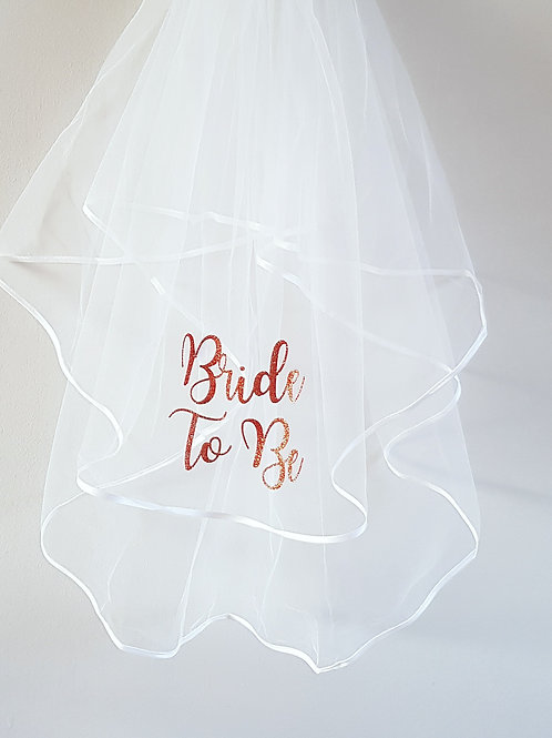veil bride to be