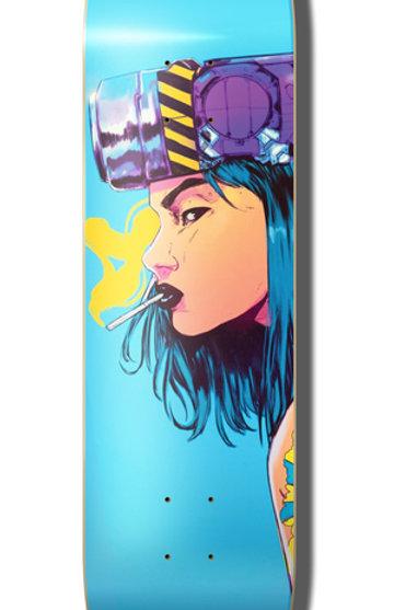 """Collours Collectiv Diber Kato Cyber Girl Skateboard Deck 8.25"""""""