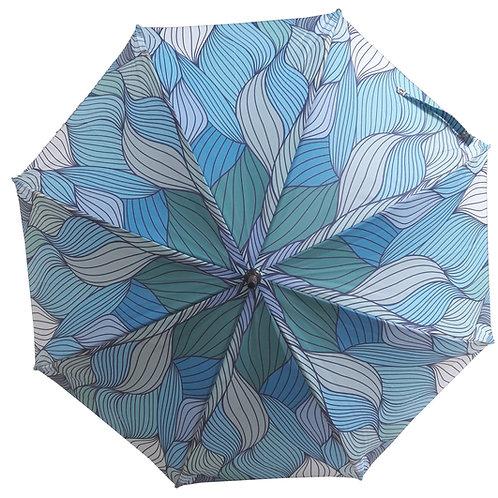 Guarda-chuva Wave Blue