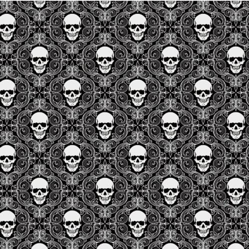Lenço/bandana Skull A