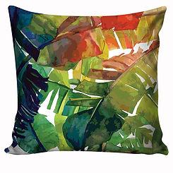 Capa de almofada Tropical