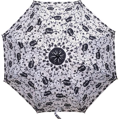 Guarda-chuva Gatos Preto e branco