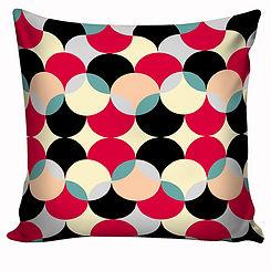 Capa de almofada Pink e Black