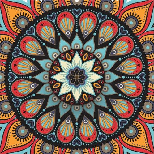 Lenço/bandana Mandala A