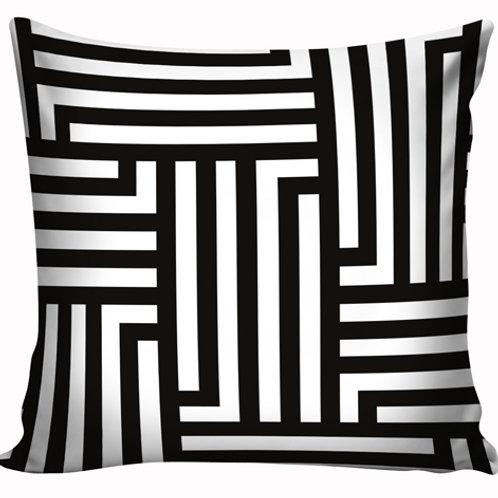 Capa de almofada Black & White 6