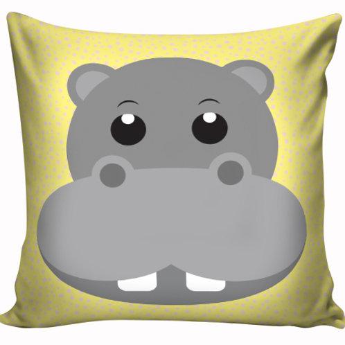 Capa de almofada Hipopótamo