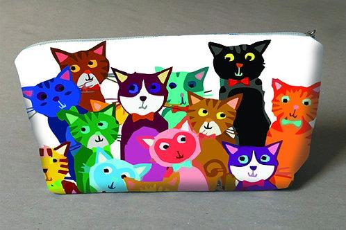 Necessaire Gatinhos coloridos