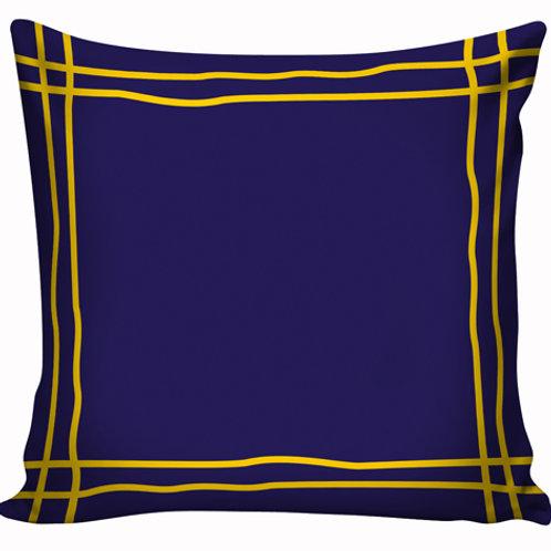 Capa de almofada Azul e Amarelo 6