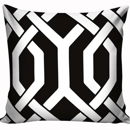 Capa de almofada Black & White 15