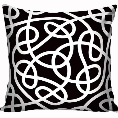 Capa de almofada Black & White 18