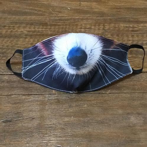 Máscara Panda vermelho