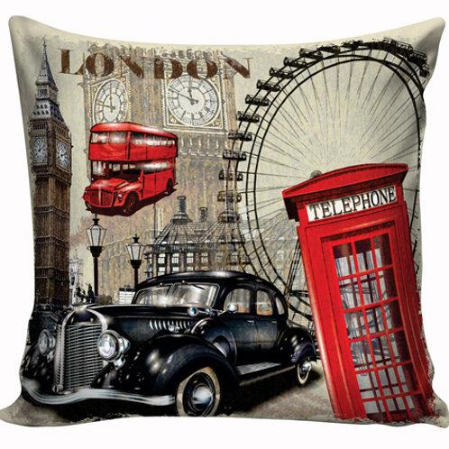 Capa de almofada Car Londres