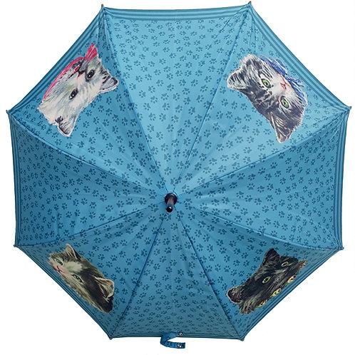 Guarda-chuva Gatos Retrô