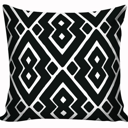 Capa de almofada Black &  White 12