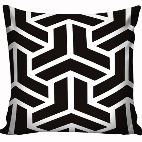 Capa de almofada Black & White 17