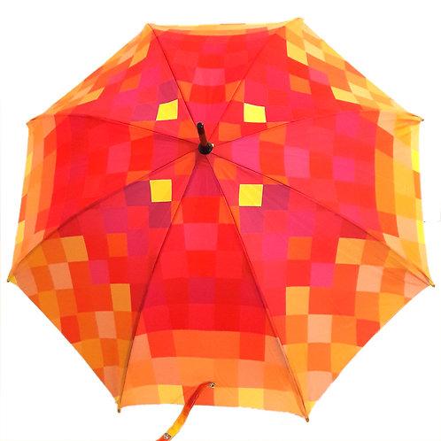 Guarda-chuva Pixel Orange
