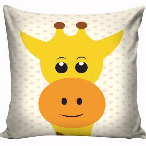 Capa de almofada Girafa