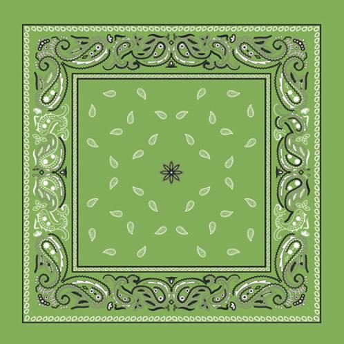 Lenço/bandana Kachmir Vintage Verde claro