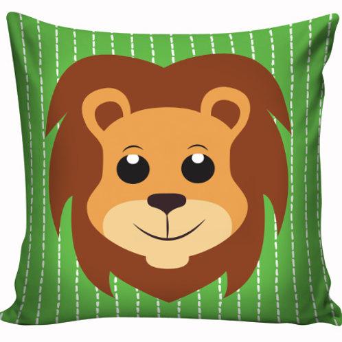 Capa de almofada Leão