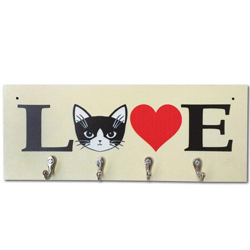 Porta chaves Cat Love