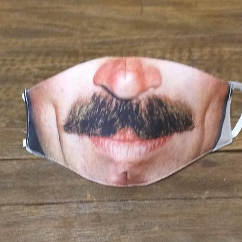 Máscara Bigode