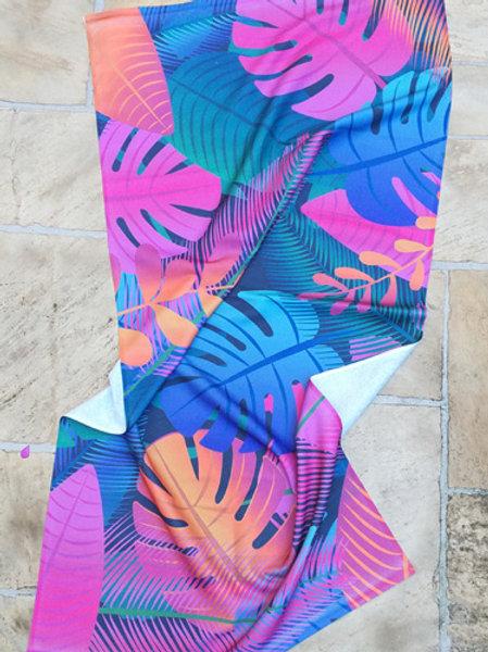 Toalha de Praia Folhagem color