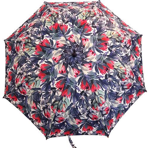 Guarda-chuva Floral Rosa