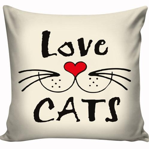 Capa de almofada Lov Cats