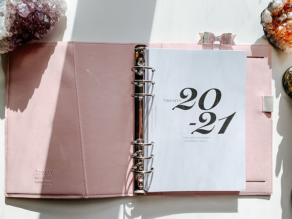 A5 Weekly (Column layout) 2020-21 Dated Planner Insert