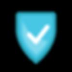 Seguro Icon - Azul