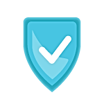 Secure Icon - Blue