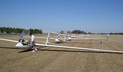 Preparativos para volar
