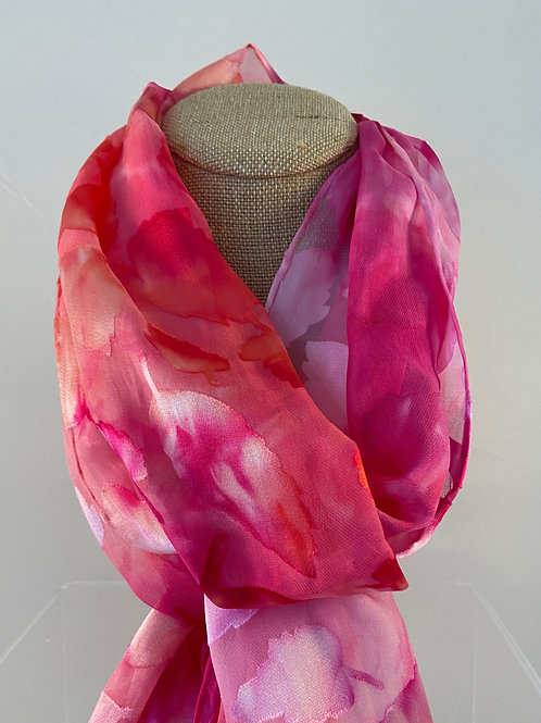 Silk Hand Dyed Scarves
