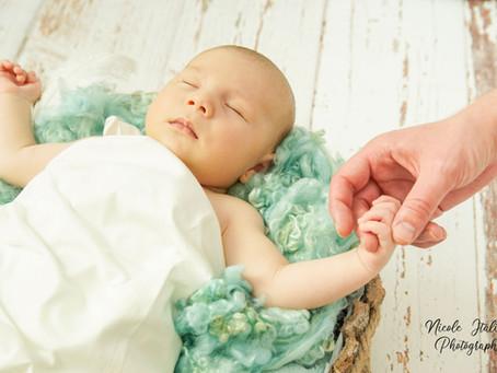 Tiefenentspanntes Babyshooting
