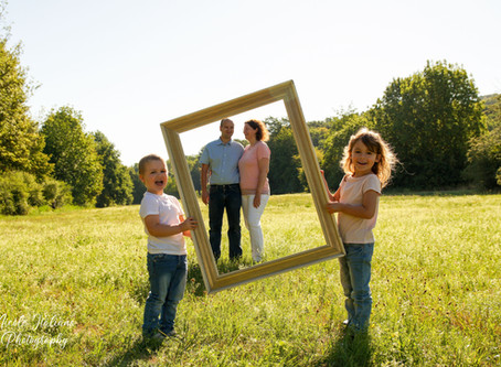 Familienshooting mit viel Sommer-Freude