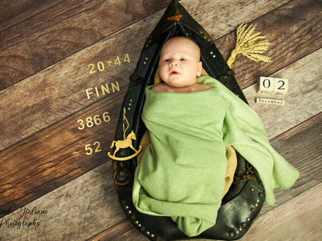 Happy Newborn-Shootings im Fotostudio