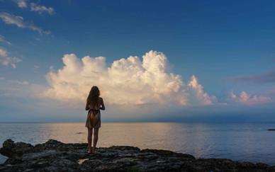 Girl at a Bulgarian beach.jpg