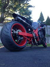 Tricked Out Cycles 240mm 300mm 330mm 360mm tire kit fat tire kit big tire kit