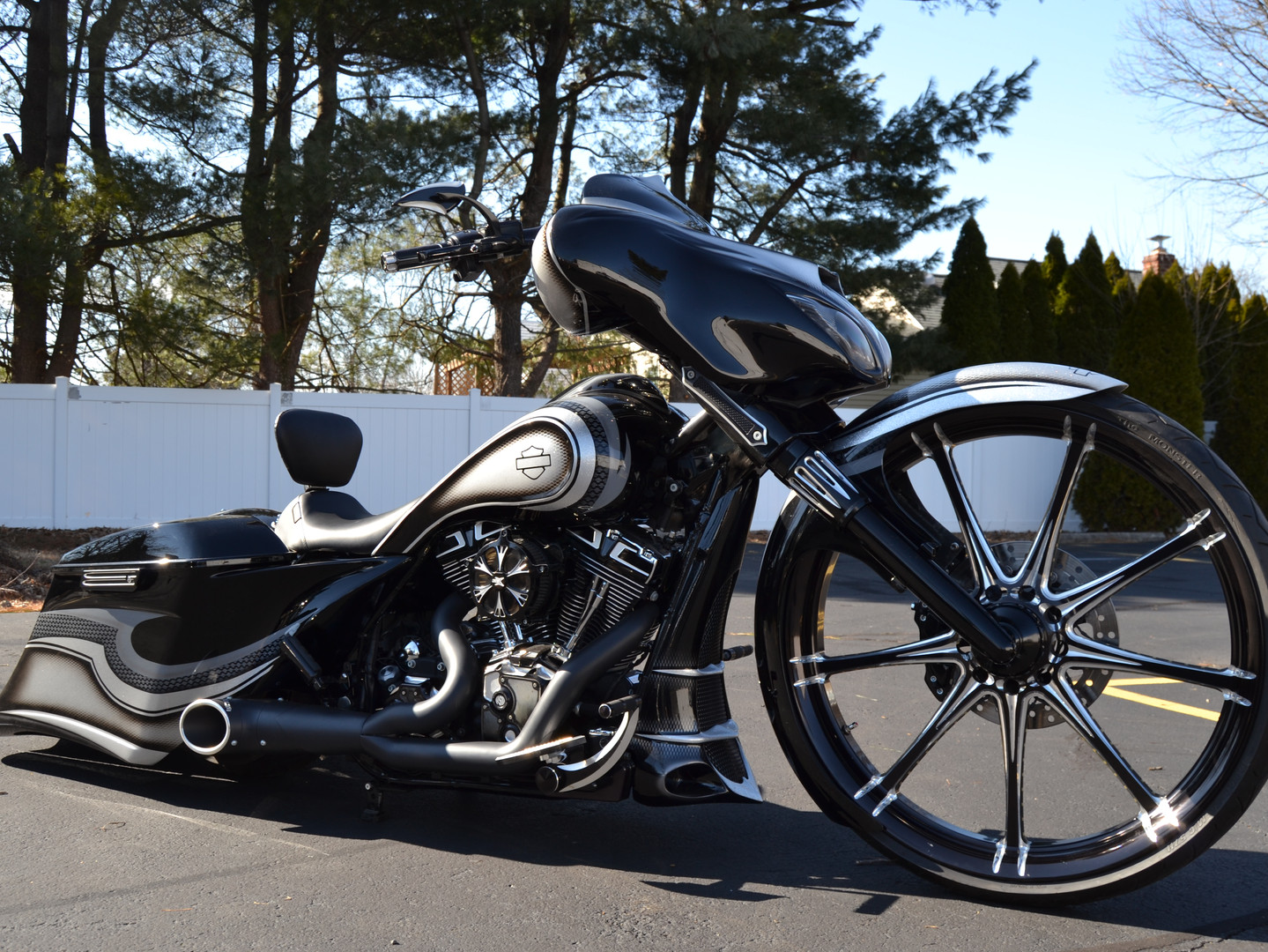 Tricked Out Cycles Bagger