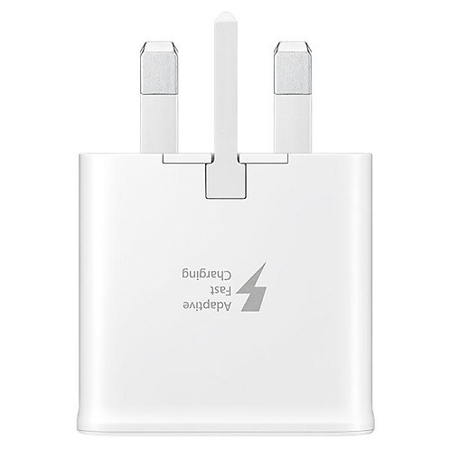 Samsung Galaxy 2A Mains Fast Charger + 1M Micro USB Cable - White Samsung
