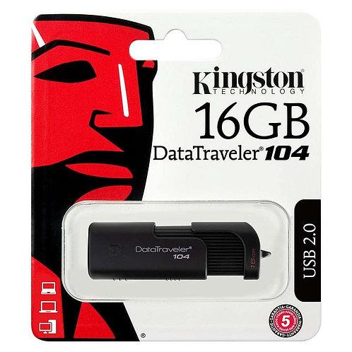 Kingston 16GB 104 Flash Drive USB.20